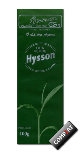 Chá Gorreana: Hysson