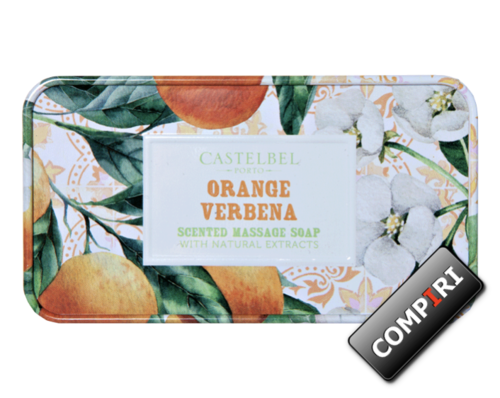 Castelbel - Massage Soap - Orange & Verbena