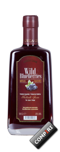 Czar: Licor Wild Blueberries
